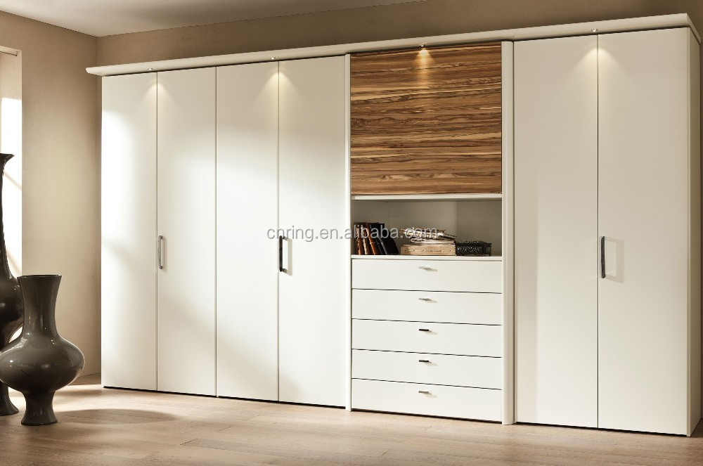 moderne 3 schiebet ren mdf formen kleiderschrank. Black Bedroom Furniture Sets. Home Design Ideas
