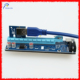 4PIN PCIE Pci-e x16 riser debug card with power supply cable PCI-e 1x to 16x adapter pci-e 50cm usb 3.0