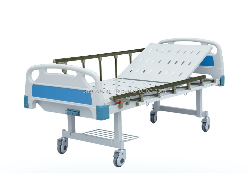 Hospital Furniture Type and Metal Material Double cranks bed cheapest beds