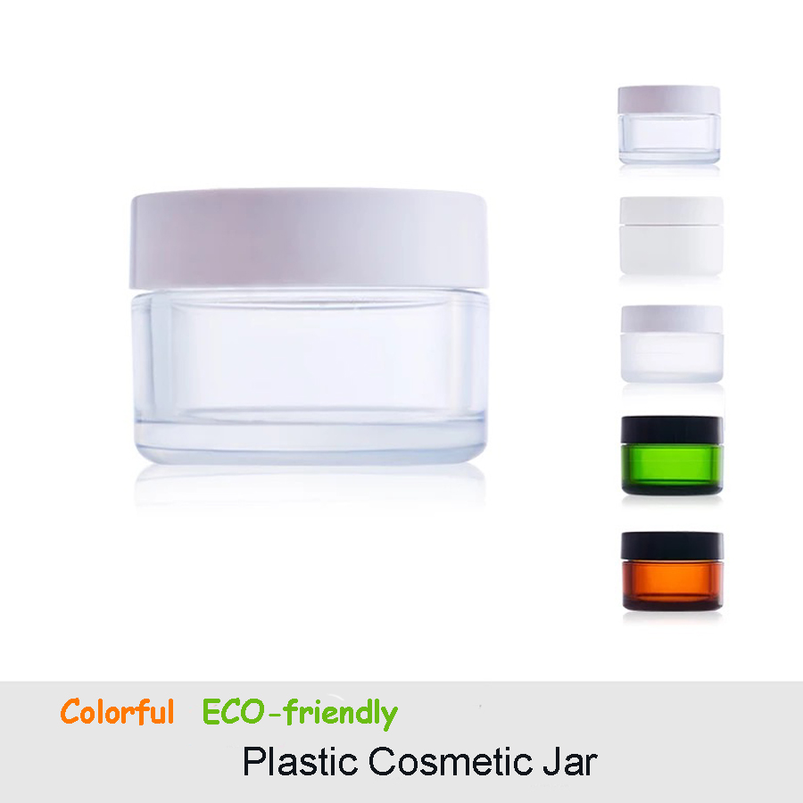 High-grade Empty Round Protable Travel Jar Cosmetic Container Mini Plastic Face Cream Jar Mould Manufacturer