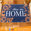 "Fashion Polypropylene Fiber Outdoor/ Indoor Entrance DoorMat, PVC Rubber Backing, 24in.x36in, 3/8"" Thick"