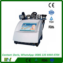Strong sound wave fat system +ULTRASONIC+VACUUM+ RF+ BIO LED 5 in 1 cavitation machine / slimming mechine