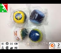 juggling ball soccer ball Fill the PP cotton soft baseball stuffed plush toy&custom plush toy, soft ball