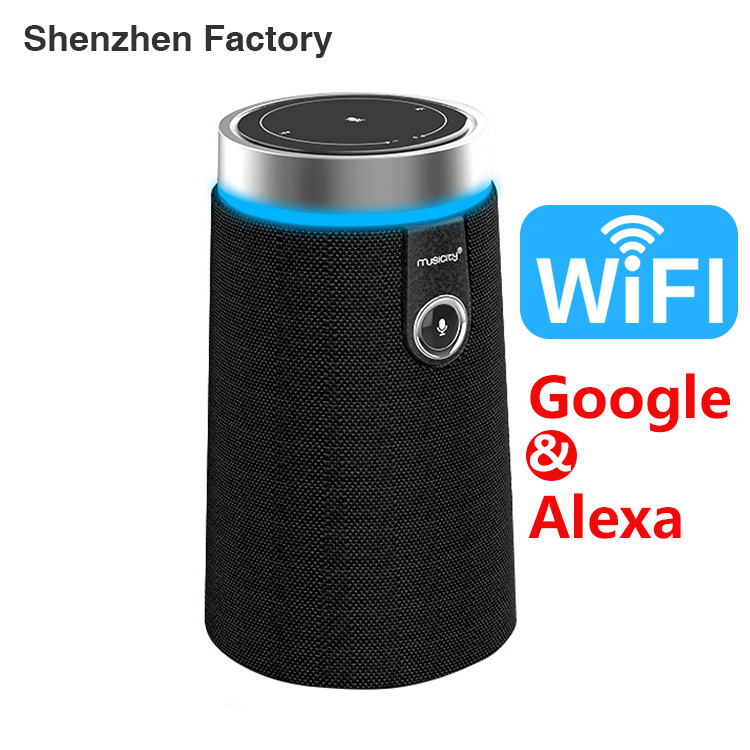 Chine Fabricant L'intelligence Artificielle Avec Amazon Haut-Parleur Alexa Bluetooth Echo
