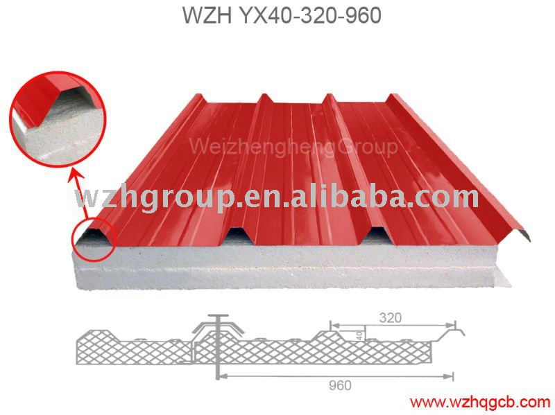 Sandwich Panel Roof