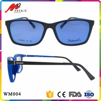 Fashion Color Sunglass Magnetic Clip On Sunglasses For Plastic ...