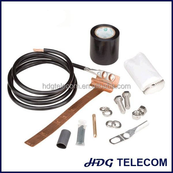 Copper Strap type Grounding Kits for RF Coaxial Cable