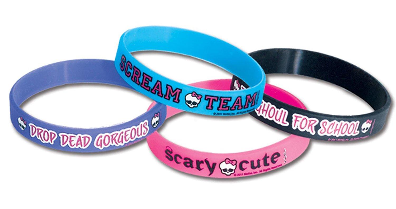 Monster High Rubber Bracelets (4)