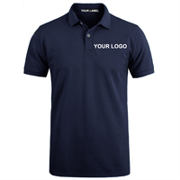 APLC99 wholesale plain golf polo shirt design custom Navy blue mens polo shirt from China manufacturer