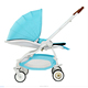 Reasonable price zhongshan blue baby stroller umbrella with car seat