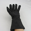 deer skin motorcycle gloves long gloves for hand and arm protection