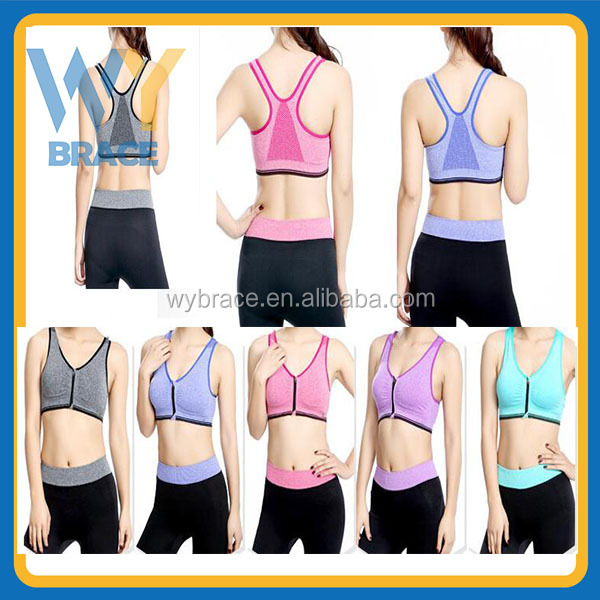 New Fashion Women Sexy Yoga Sport Running Bra