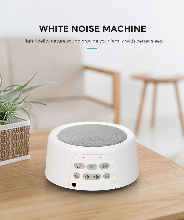 High Fidelity Fan and Relaxing Nature Sounds, Timer and Memory Feature, Sleep Therapy White Noise Sound Machine for Home Office