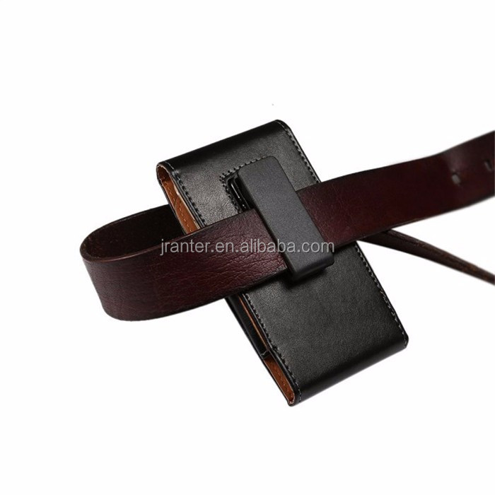 Jranter Holster Belt Clip Case for iPhone 6 plus Custom Leather Belt Pouch Mobile