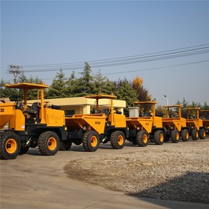 12 years manufacturer Tough and versatile FCY30R 3ton diesel 4x4 dump truck