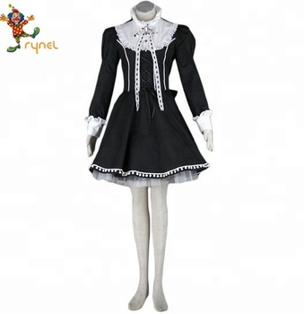 Pgwc2515 Sexy Jananpese Anime Black Lolita Cosplay Women Fancy Dress  Costume , Buy Sexy Lolita Dresses,Women Fancy Dress,Anime Cosplay Costume  Product