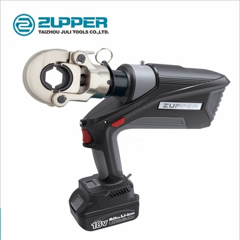 Zupper  EB-300 Brushless motor battery powered hydraulic cable lug crimping tool 16mm to 300mm