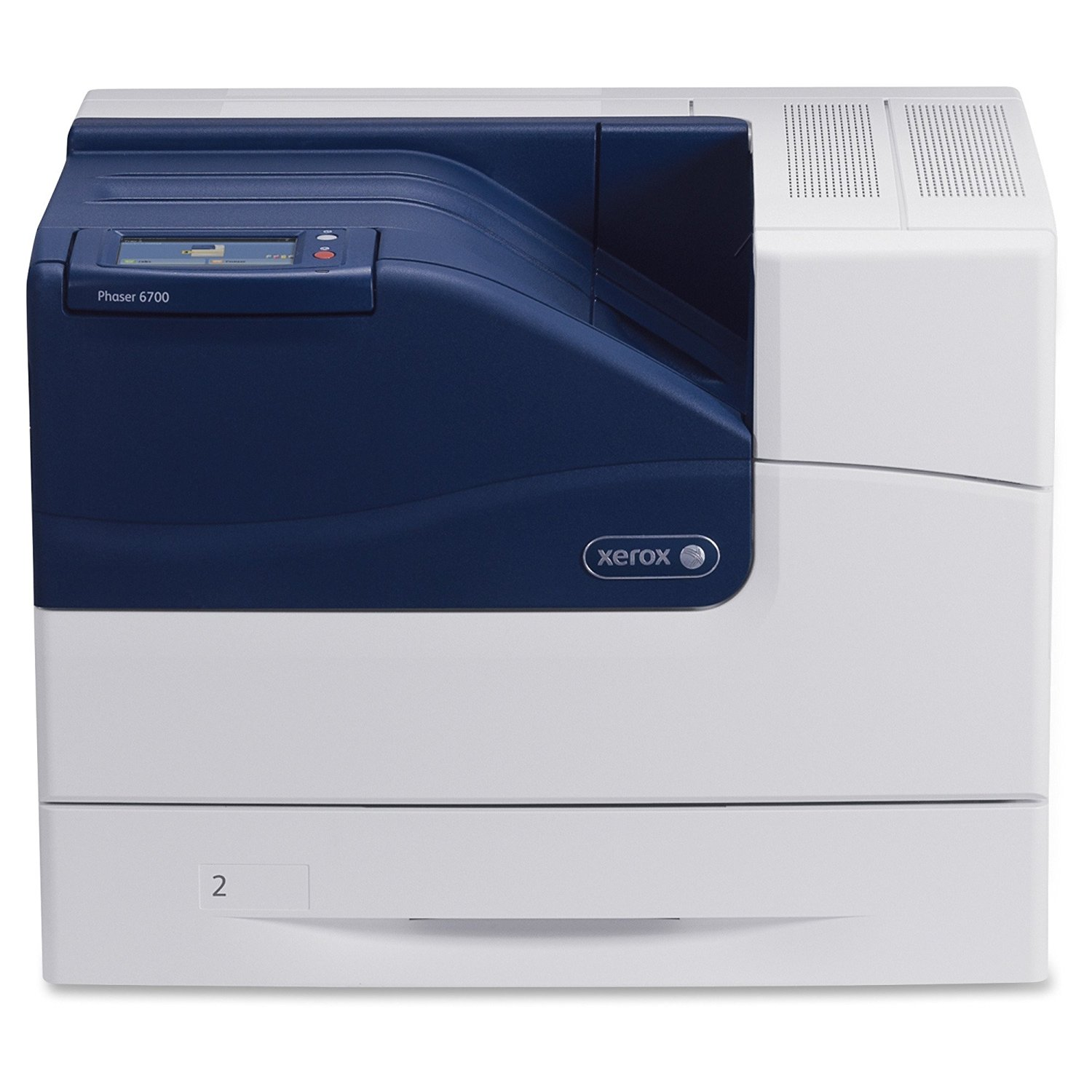 "Xerox Phaser 6700DN Color Laser Printer (47 ppm Mono/47 ppm Color) (1.25 GHz) (1 GB) (8.5"" x 14"") (2400 x 1200 dpi) (Duty Cycle 120,000 Pages) (Duplex) (700 Sheet Input Tray) (Network) (Ethernet) USB"