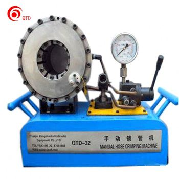 High Pressure Manual Portable Hydraulic Hose Crimping Machines