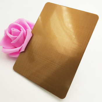 201/304/430 champagne decoration color stainless steel sheet