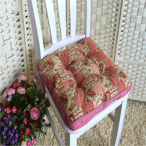 2016 Universal size adult warm chair cushion with flower printed