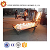 Cast iron/steel melting electric induction furnace casting workpiece