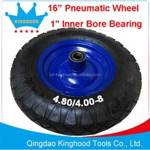 16 inch pneumatic wheel tire 4.80/4.00-8