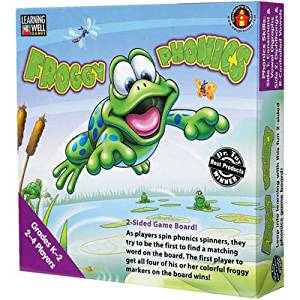 Edupress Froggy Phonics - Digraphs/Diphthong