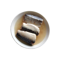 Chinese canned mackerel fish in brine water