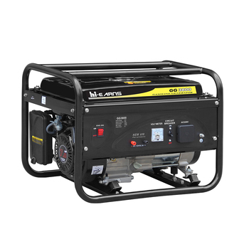 3KW Small AC Single Phase Home Power Generator Open Type Gasoline Generator
