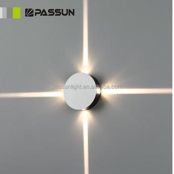 round small led decorative light 4w indoor led decorative wall light ...