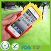 Fashion Mcdonald's chips design logo silicone rubber cell phone protect case