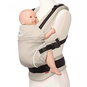 76d795fb1ed Get Quotations · Manduca Baby Carrier Pure Cotton (Desert Sand) by Manduca