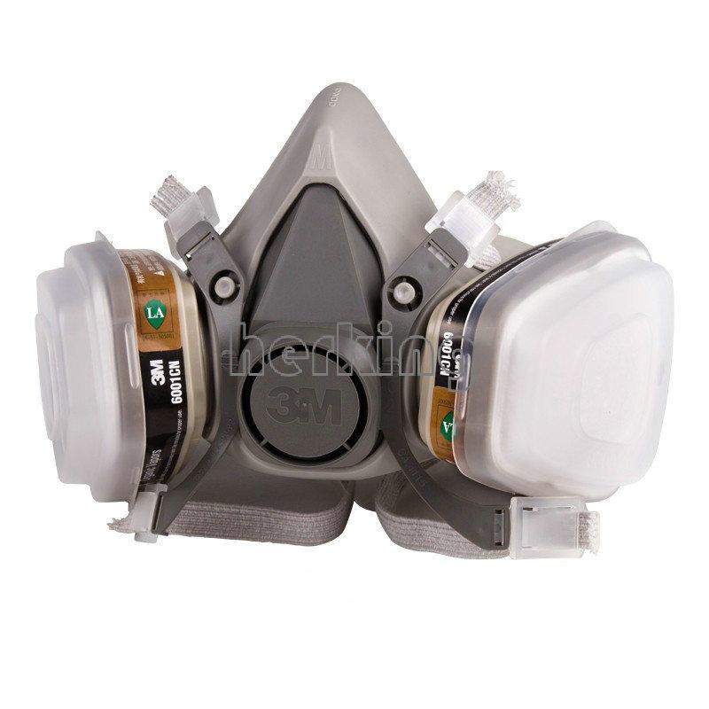 N95 6200 7 шт. костюм респиратор картина опрыскивание анфас противогаз бесплатная доставка