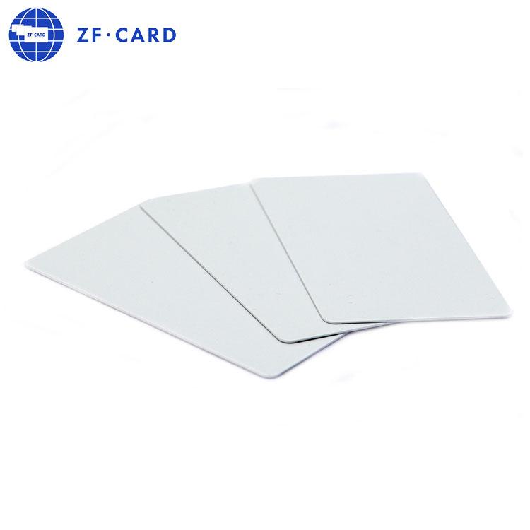 화이트 125 키로헤르쯔 비접촉식 액세스 카드 근접 Temic 5577 Q5 칩 카드