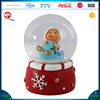 Resin snow globes, kids figurine inner snow globes