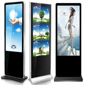 32 42 43 49 55 65 inch floor stand digital signage/lcd display/advertising screen