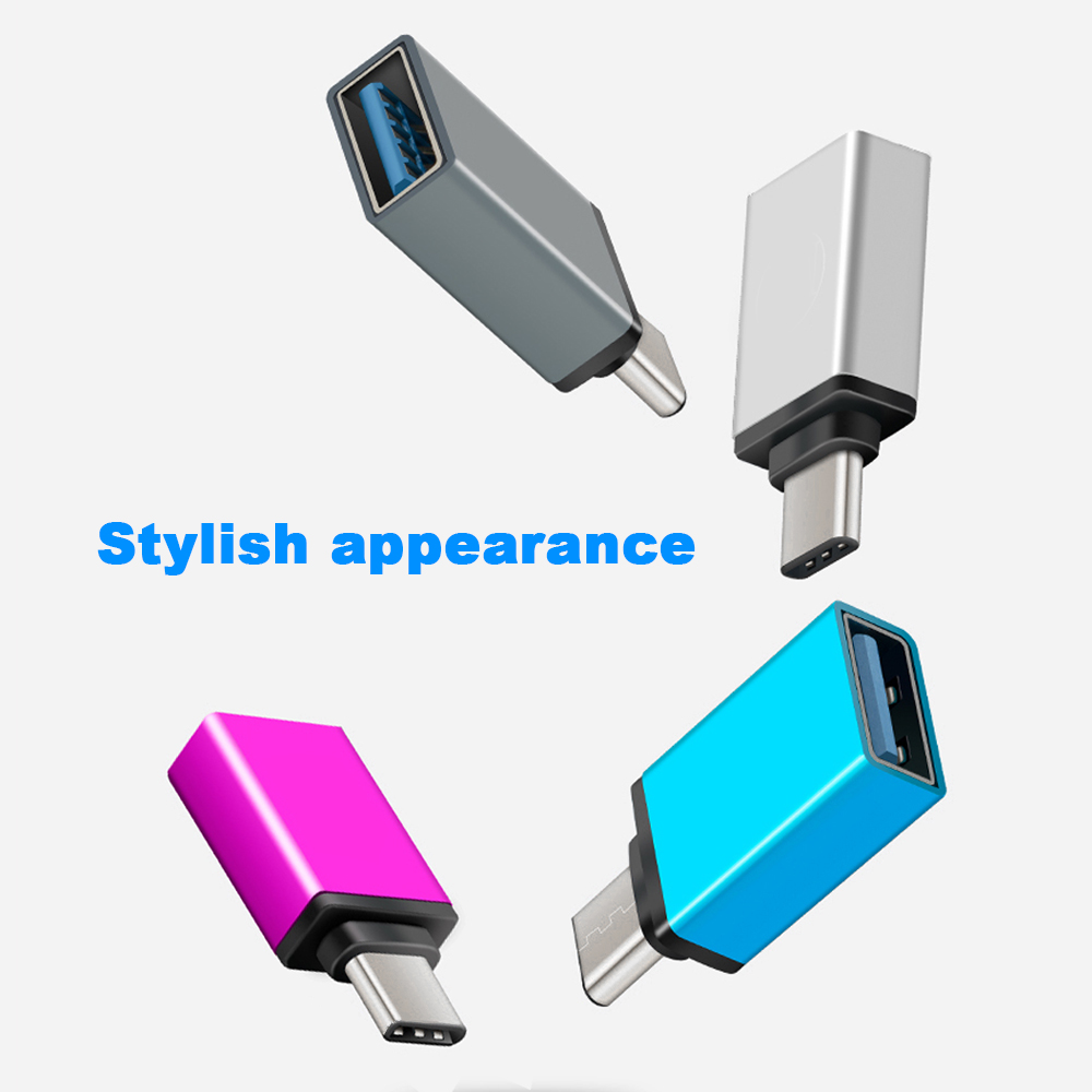 Punctual New Fashion Usb 3.1 Type C Otg Adapter Micro Usb Female To Type C Male Keychain For Iphone Huawei Micro Usb Adapter Save 50-70% Type-c Adapter Accessories & Parts