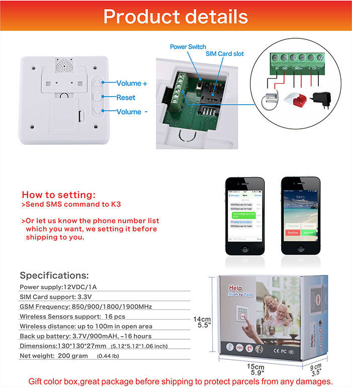 Online Shopping India Alarm System Home Security Personal Panic ...