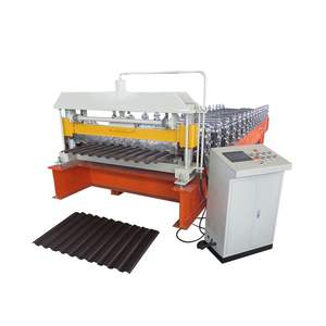 China hot sale CE certificate standing seam metal roof panel roll forming machine