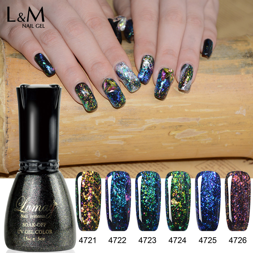 Lvmay Marques Tremper Galaxy Ombre Gel Conceptions D'art D'ongle