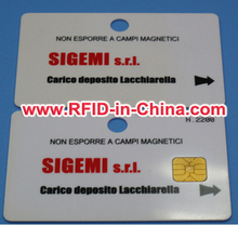 Free Samples Available RFID Debit Card Example, 125KHz/13.56MHz RFID Card
