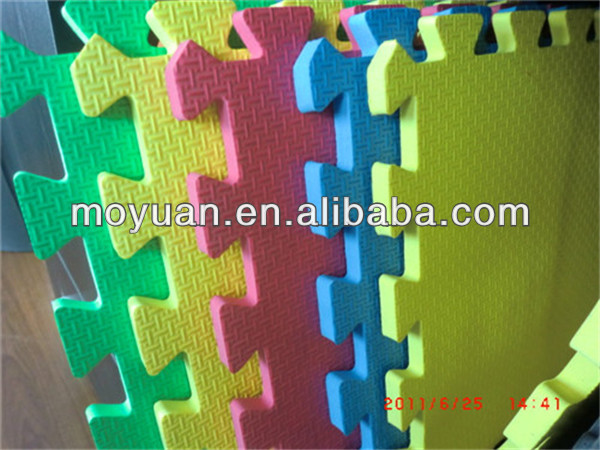 eva interlocking children foam floor play mat/floor mat wholesale