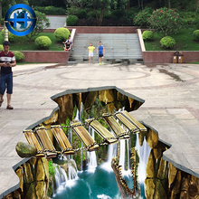 Outdoor park decoration floor tile 12mm and 8x8 3D ceramic floor tile top selling products in alibaba