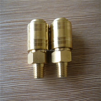 Brass NPT male German Type air Quick Coupling all kind of size