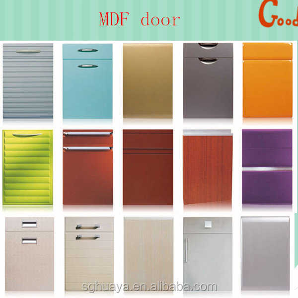 European Sized Modular Kitchen Cabinets Fiber Cabinet Door