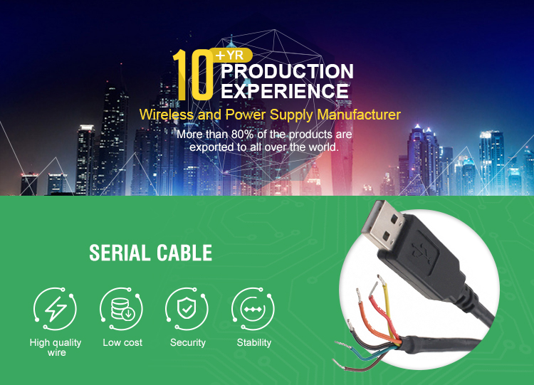 Ftdi Chip Usb To 5v Ttl Uart Serial Cable Wire End 1 8m Ttl-232r-5v Ftdi  Ttl-232rg-vip-we Ttl/usb 1 8m Cable - Buy Usb To Serial Ttl Cable Ftdi,Usb