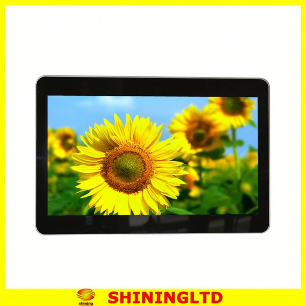 "15 ""full hd lcd ad digital signage media player wireless"