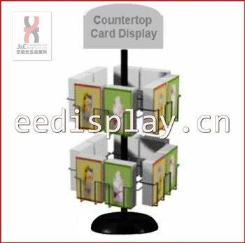 Metallic countertop giftcard display rack and standrevolving metallic countertop giftcard display rack and standrevolving greeting card display rackstore spinning m4hsunfo