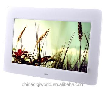 best sexy vedio digital photo frame 10 inch